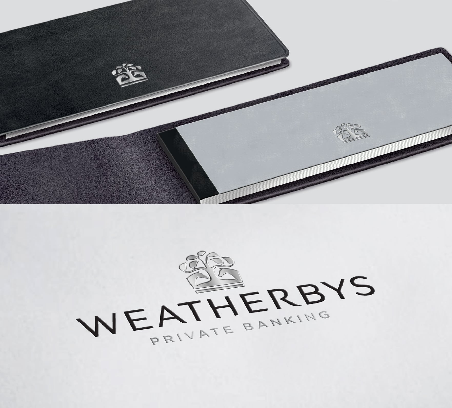 Elegant 18th Anniversary Logo Style: Lewis Moberly