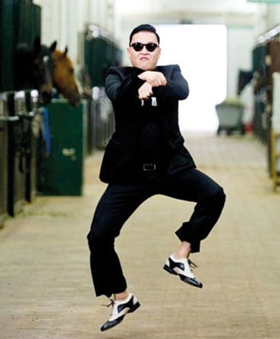 Going Gangnam!