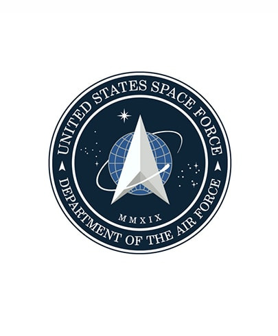 The United States Space Force logo deconstructed